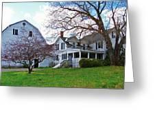 Tower Farm Washburn Maine Greeting Card