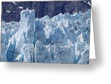 Tower In Margerie Glacier Greeting Card