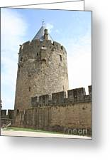 Tower Town Wall - Carcassonne Greeting Card