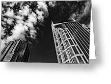 Tower Up Greeting Card by CJ Schmit