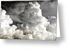 Towering Clouds Greeting Card