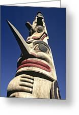 Towering Totem Greeting Card