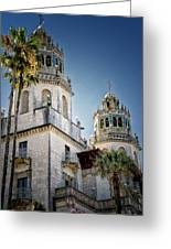 Towers At Hearst Castle - California Greeting Card
