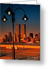 Towers Framed Greeting Card