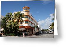 Towers Hotel - Miami Greeting Card