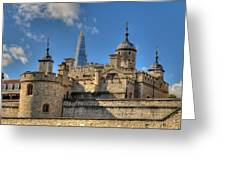 Towers Of London Greeting Card
