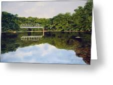 Town Bridge Greeting Card
