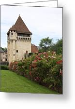 Town Gate - Nevers  Greeting Card
