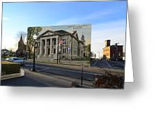 Town Hall And Court House In Westerly Rhode Island Greeting Card