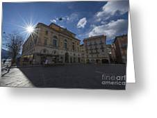 Town Hall Greeting Card