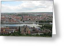 Town Of Wurzburg Greeting Card