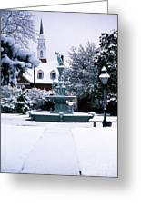 Town Square Greeting Card