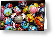Toy Balls Greeting Card