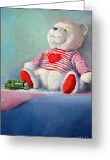 Toy Bear #1 Greeting Card by Rich Kuhn