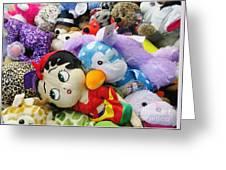 Toy Bin Greeting Card