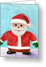 Toy Santa Greeting Card