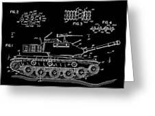 Toy Tank Greeting Card