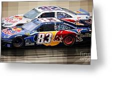 Toyota Camry Nascar Nextel Cup 2007 Greeting Card