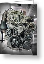 Toyota Engine Greeting Card