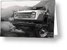 Toyota Fj55 Land Cruiser Greeting Card