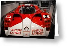 Toyota Gt1 Venture Safenet Greeting Card