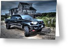 Toyota Tacoma Trd Truck Greeting Card