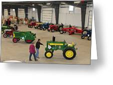 Mecum Tractor Auction Greeting Card