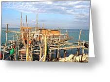 Trabocco 2 Greeting Card