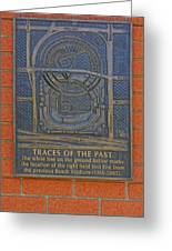 Traces Of The Past Busch Stadium Dsc01113 Greeting Card