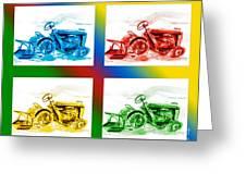 Tractor Mania II Greeting Card by Kip DeVore