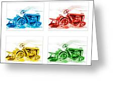 Tractor Mania  Greeting Card