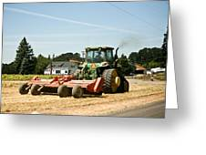 Tractor Power Greeting Card