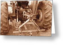 Tractor Series 002 Greeting Card