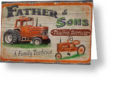 Tractor Supplies Greeting Card by JQ Licensing