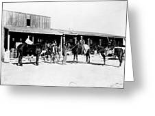 Trading Post, 1882 Greeting Card