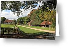Traditional Countryside Britain Greeting Card