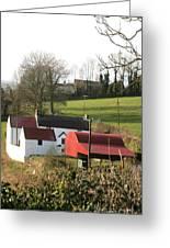 Traditional Irish Homestead Greeting Card