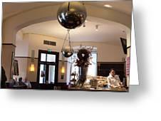 Traditional Vienna Coffee House Greeting Card