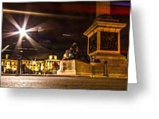 Trafalgar Square Greeting Card