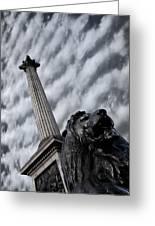 Trafalgar Square London Greeting Card