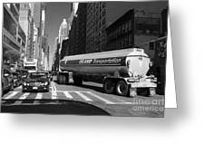Traffic - New York In Perspective Series Greeting Card