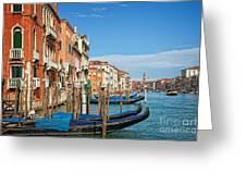 Traghetto Greeting Card