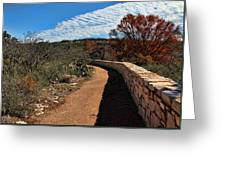 Trail At Reimer's Ranch Greeting Card