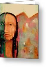 Trail Of Tears Greeting Card by Johanna Elik