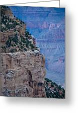 Trail On The Edge Greeting Card