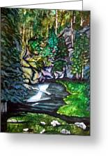 Trail To Broke-off Greeting Card