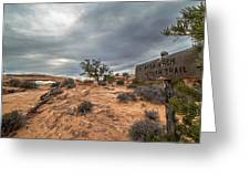 Trail To Mesa Arch Greeting Card