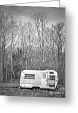 Trailer Greeting Card by Diane Diederich