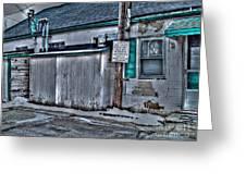 Trailer Park Community Center Greeting Card by MJ Olsen
