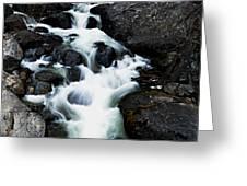 Trailhead Cascades Greeting Card